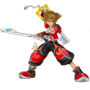 game-icons:k:kingdom-hearts-sora-valor-form-neokratos.png